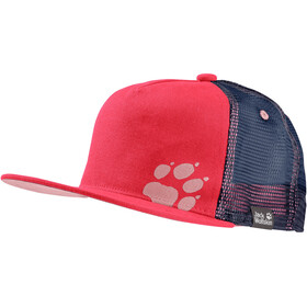 Jack Wolfskin Rib Paw Pet Kinderen, tulip red